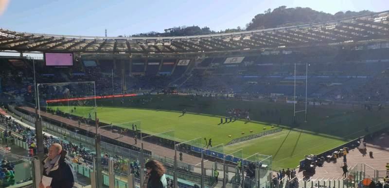 Uitzicht voor Stadio Olimpico Vak 43 Rij 48 Stoel 7s