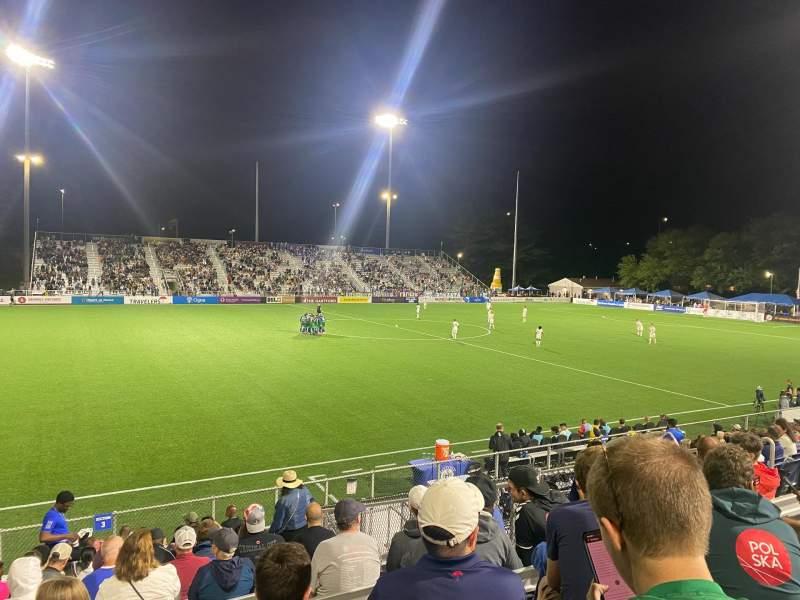 Uitzicht voor Dillon Stadium Vak 3 Rij P Stoel 13