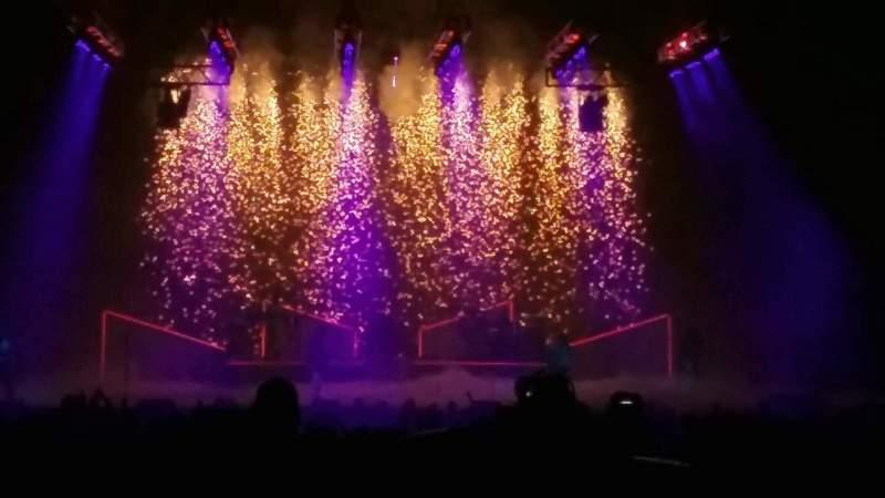 PNC Music Pavilion, vak: 7, rij: S, stoel: 2
