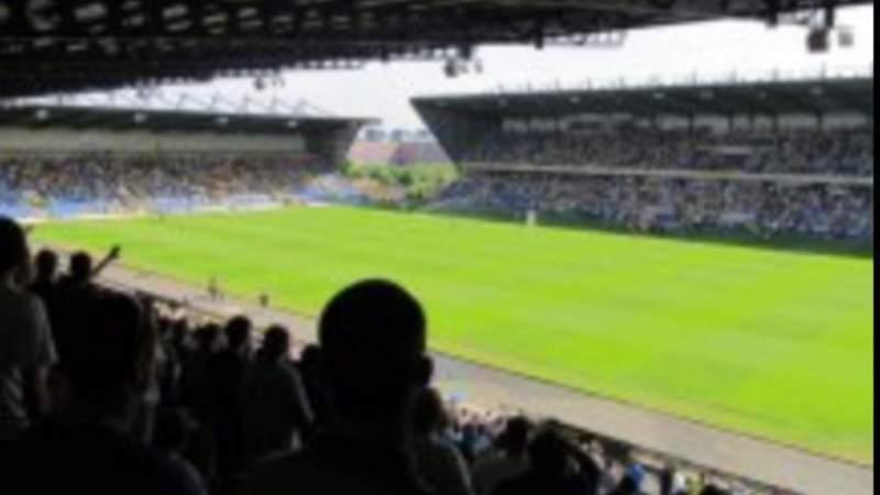 Uitzicht voor Kassam Stadium