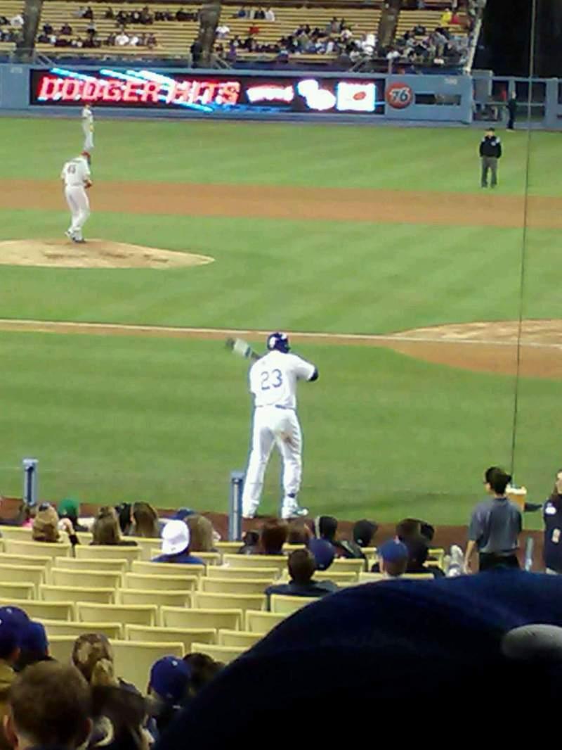 Dodger Stadium, vak: 9FD, rij: S, stoel: 2