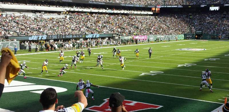 MetLife Stadium, vak: 148, rij: 11, stoel: 1
