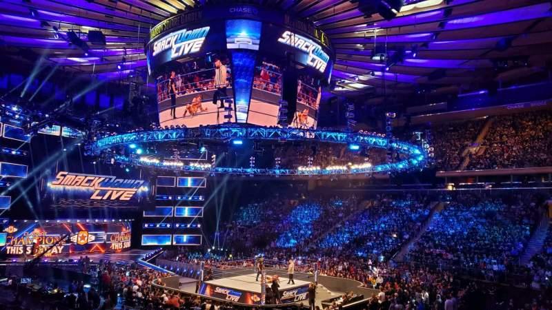 Uitzicht voor Madison Square Garden Vak 119 Rij 14 Stoel 12