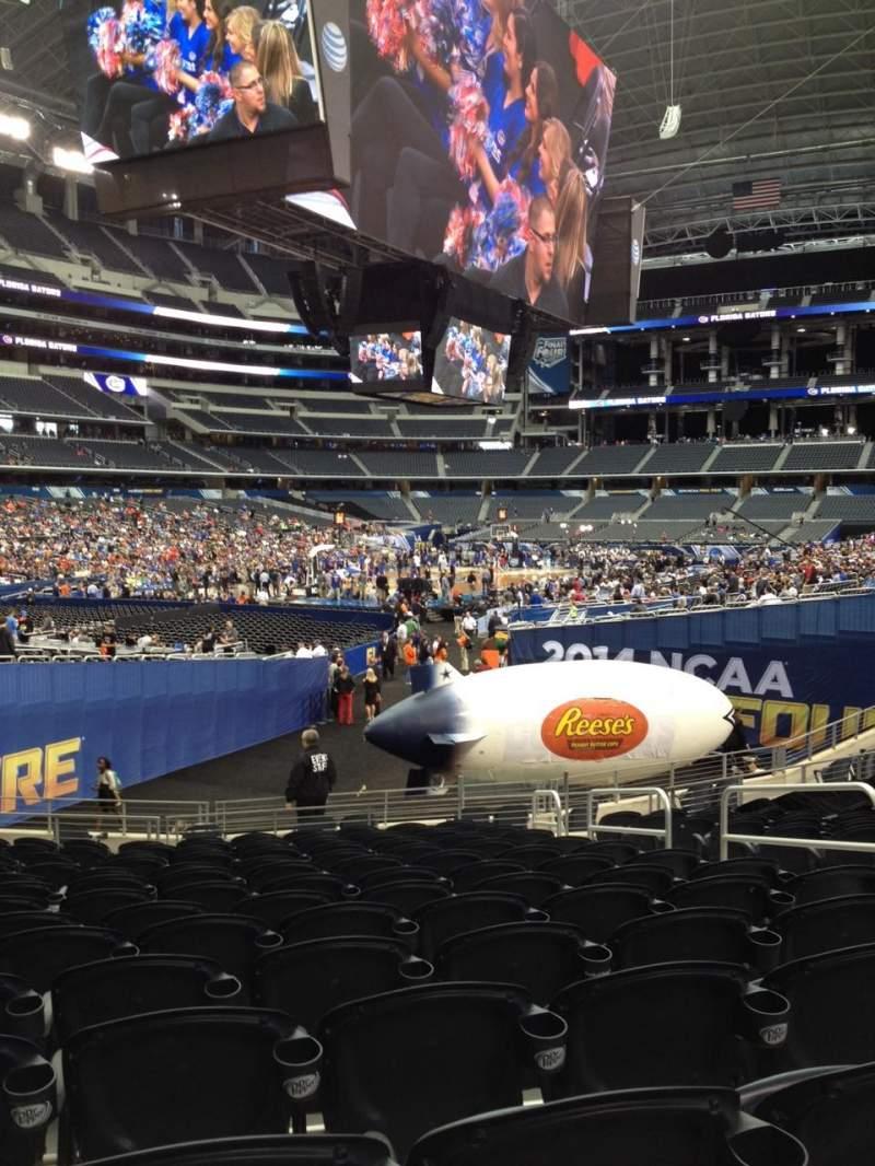 AT&T Stadium, vak: 145, rij: 17, stoel: 6