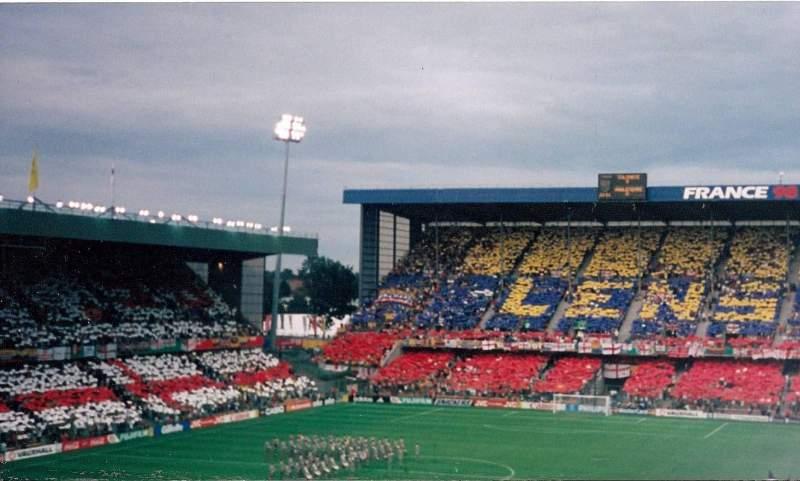 Uitzicht voor Stade Bollaert-Delelis