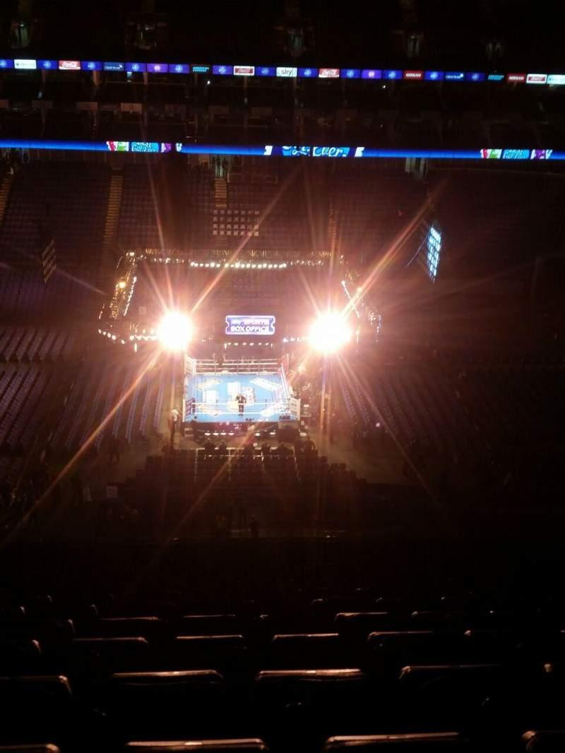 Uitzicht voor The O2 Arena Vak 419 Rij S