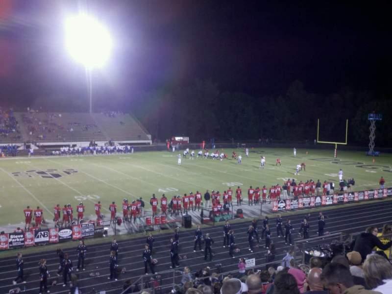 Uitzicht voor Boiling Springs High School