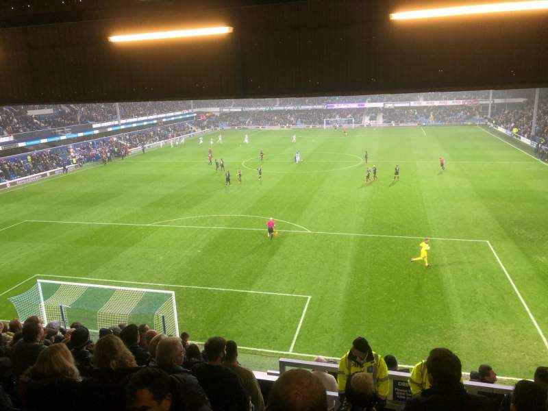 Loftus Road, vak: Y5 - School End (away), rij: N, stoel: 100