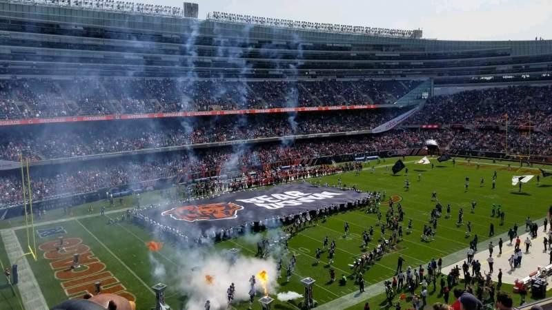 Soldier Field, vak: 343, rij: 9