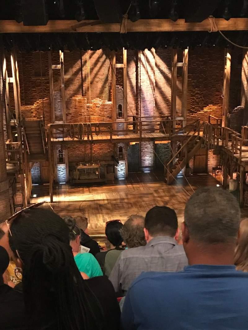 CIBC Theatre, vak: Mezzanine LC, rij: F, stoel: 311