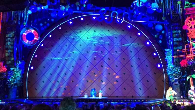 Palace Theatre (Broadway), vak: Orchestra Center, rij: Q, stoel: 102