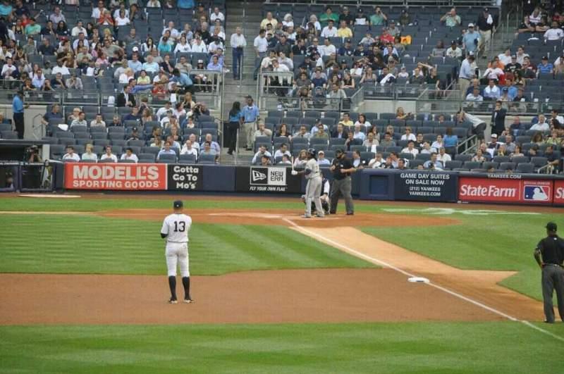 Yankee Stadium, vak: 134, rij: 24, stoel: 3