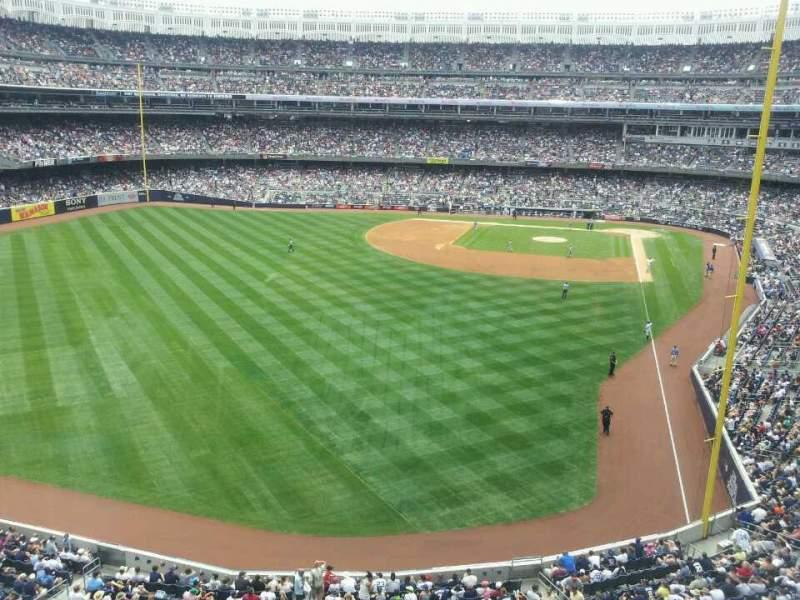 Yankee Stadium, vak: Audi Yankees Club, rij: 1, stoel: 2