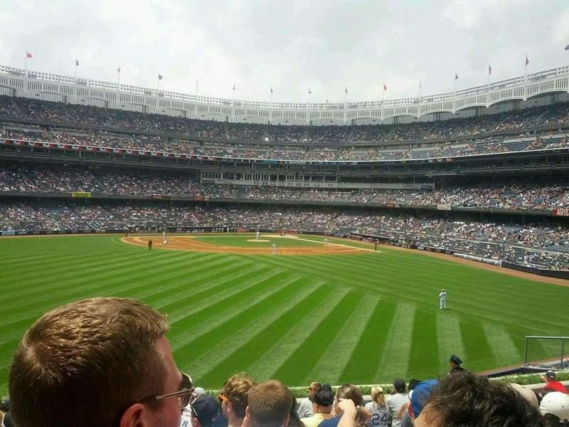Yankee Stadium, vak: 238, rij: 14, stoel: 11
