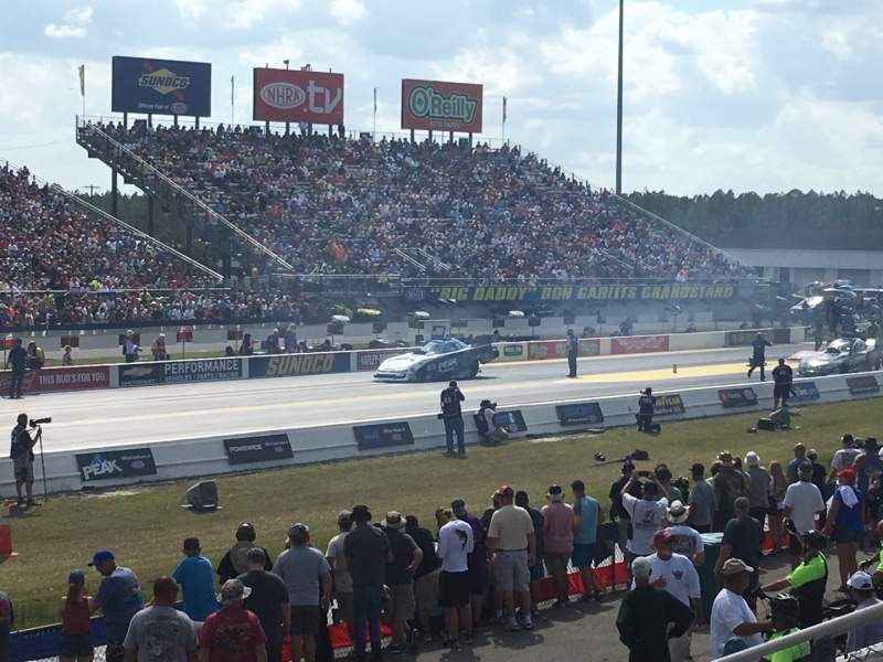 Uitzicht voor Gainesville Raceway Vak GA