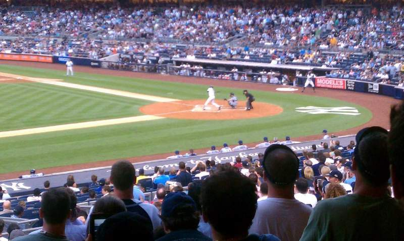 Yankee Stadium, vak: 125, rij: 29, stoel: 10