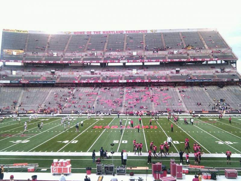 Maryland Stadium, vak: 25, rij: ff, stoel: 14