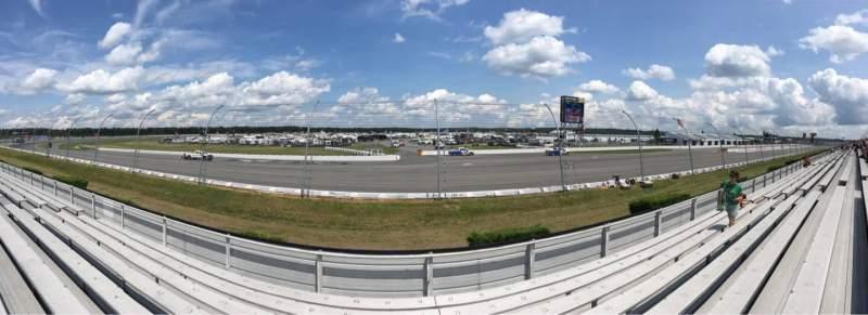 Pocono Raceway, vak: 141, rij: 8, stoel: 13