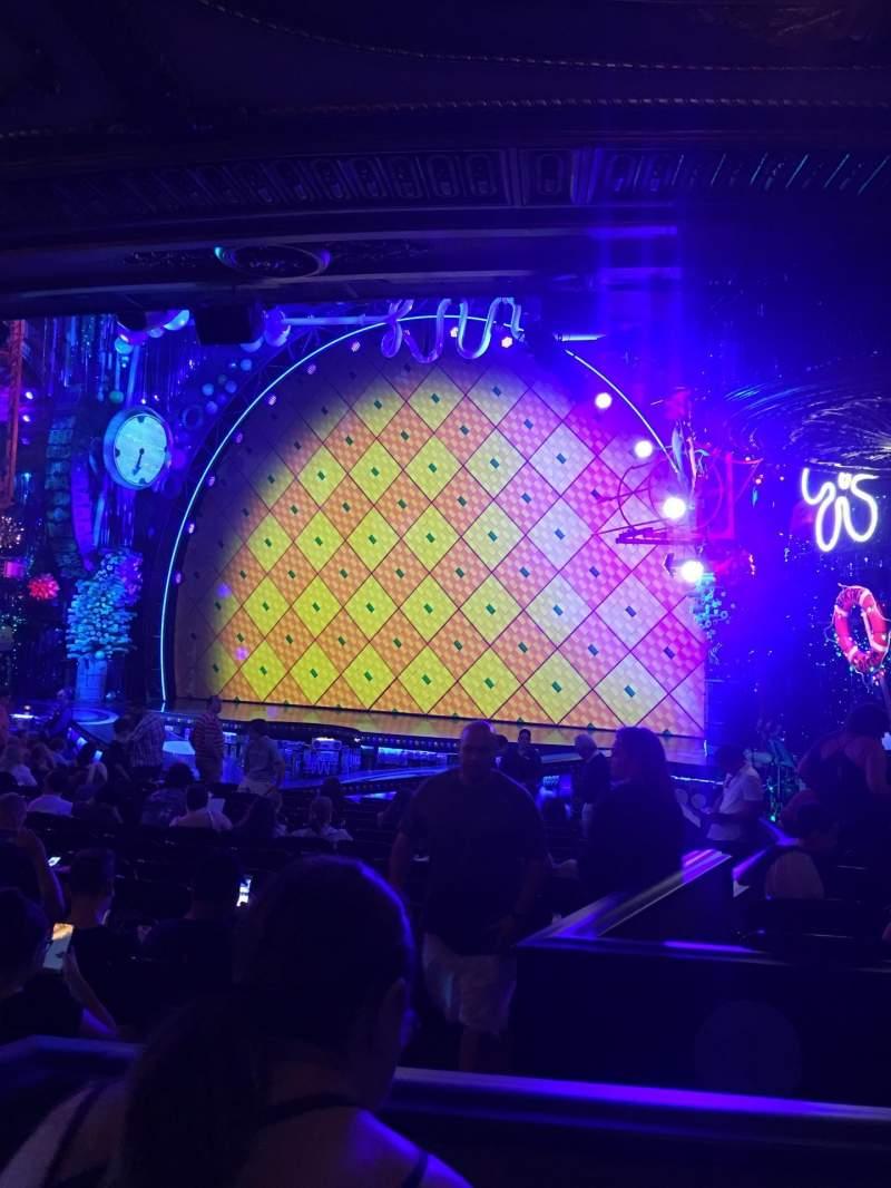 Palace Theatre (Broadway), vak: ORCH, stoel: 6