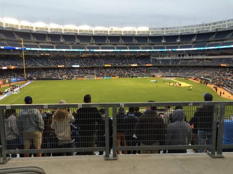 Yankee Stadium, vak: 236, rij: Disabled Sea, stoel: Bleachers
