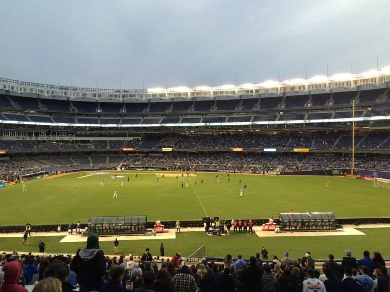 Yankee Stadium, vak: 202, rij: 23, stoel: Bleacher
