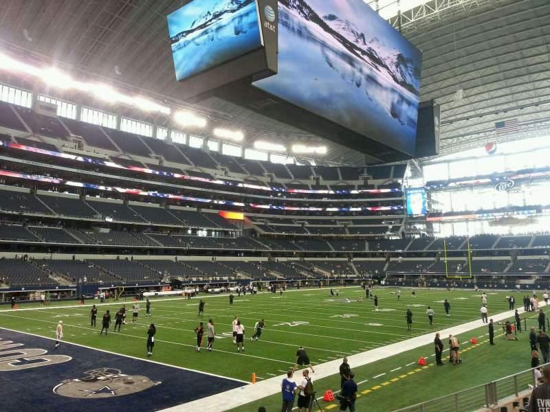 AT&T Stadium, vak: 145, rij: 8, stoel: 8