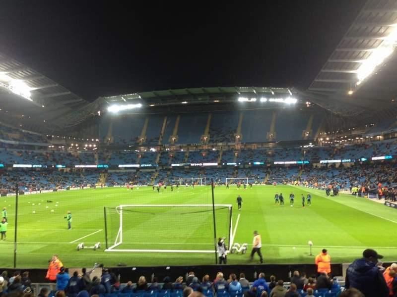 Etihad Stadium (Manchester), vak: 135, rij: U, stoel: 971