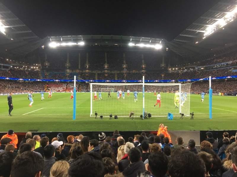 Etihad Stadium (Manchester), vak: 137, rij: G, stoel: 1029