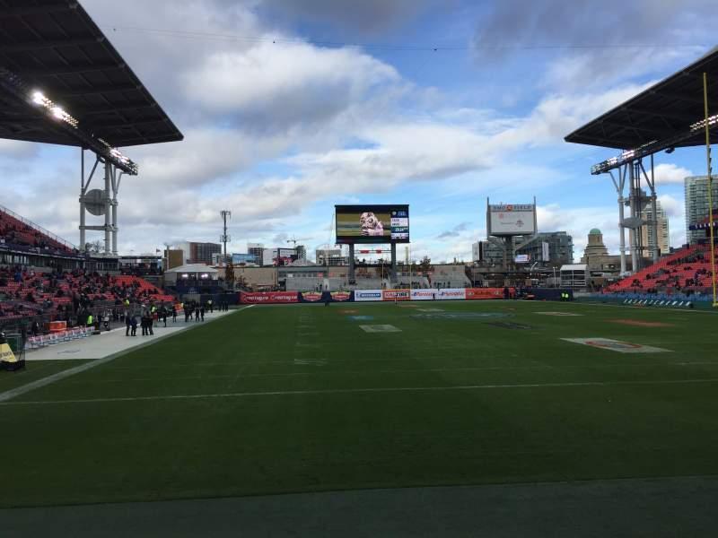 BMO Field, vak: 116, rij: 1, stoel: 1