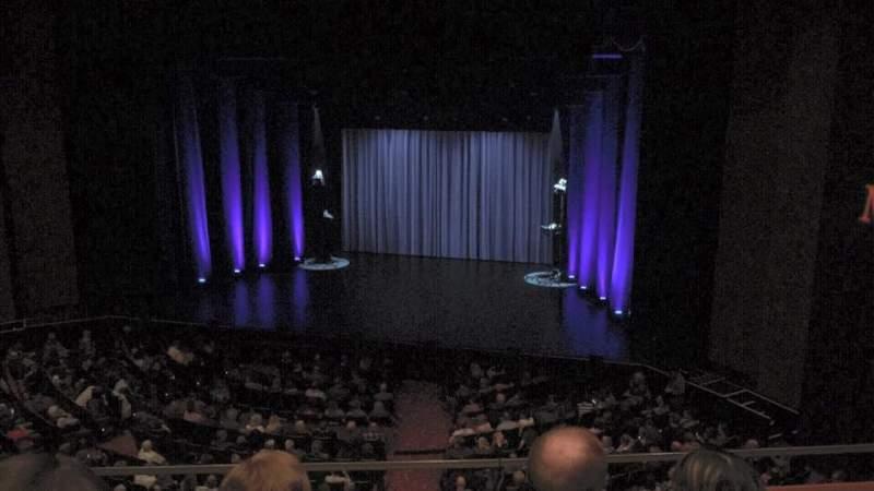Uitzicht voor Théâtre du Casino Lac-Leamy Vak Balcony Rij B Stoel 20