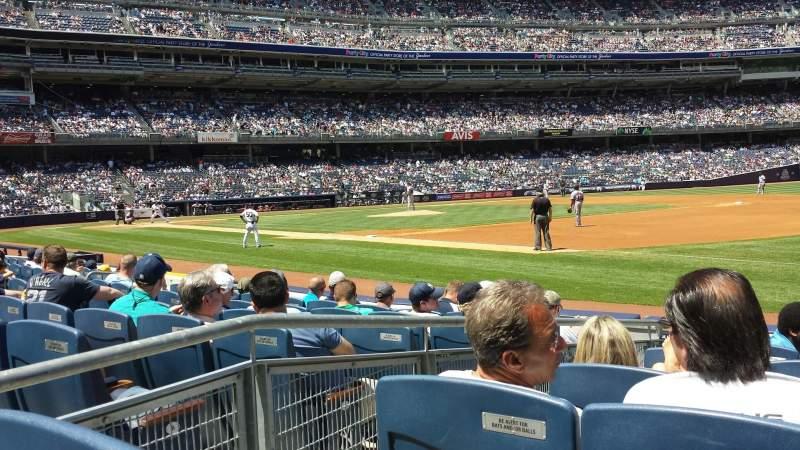 Yankee Stadium, vak: Champions Suite - Sec 13, rij: 7, stoel: 12