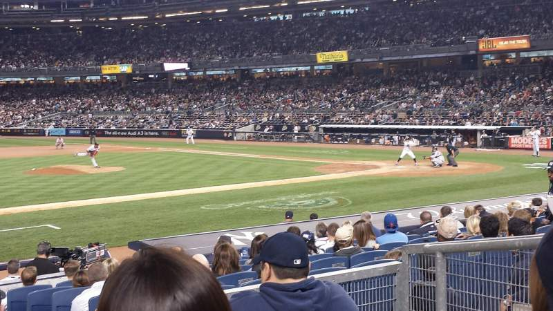 Yankee Stadium, vak: 125, rij: 15, stoel: 3