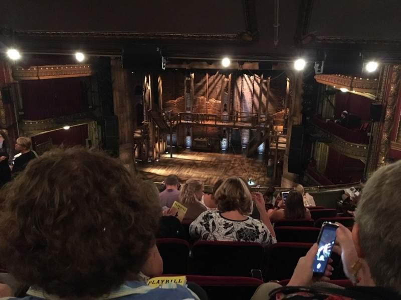 CIBC Theatre, vak: Mezzanine LC, rij: L, stoel: 16