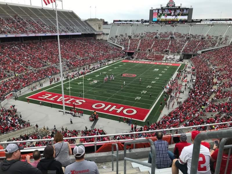 Ohio Stadium, vak: 5c, rij: 8, stoel: 28
