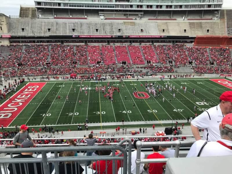 Ohio Stadium, vak: 24c, rij: 9, stoel: 13