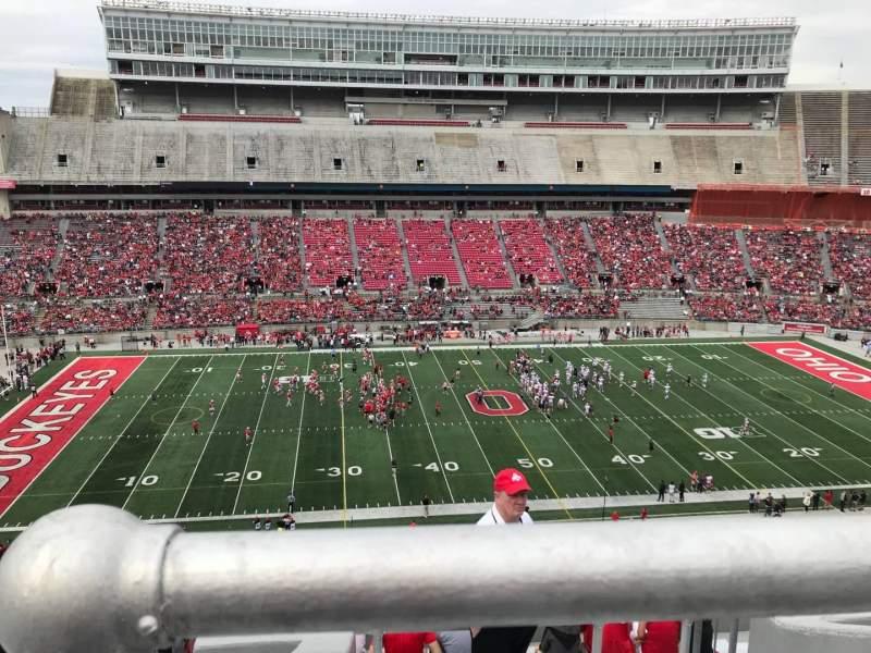 Ohio Stadium, vak: 24c, rij: 11, stoel: 10