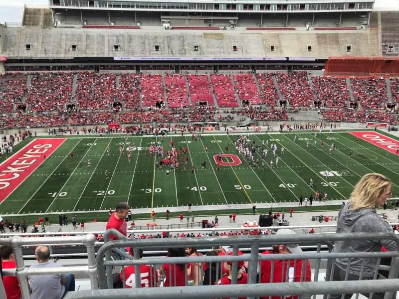 Ohio Stadium, vak: 24c, rij: 9, stoel: 4