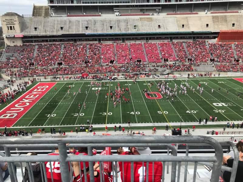 Ohio Stadium, vak: 24c, rij: 8, stoel: 2