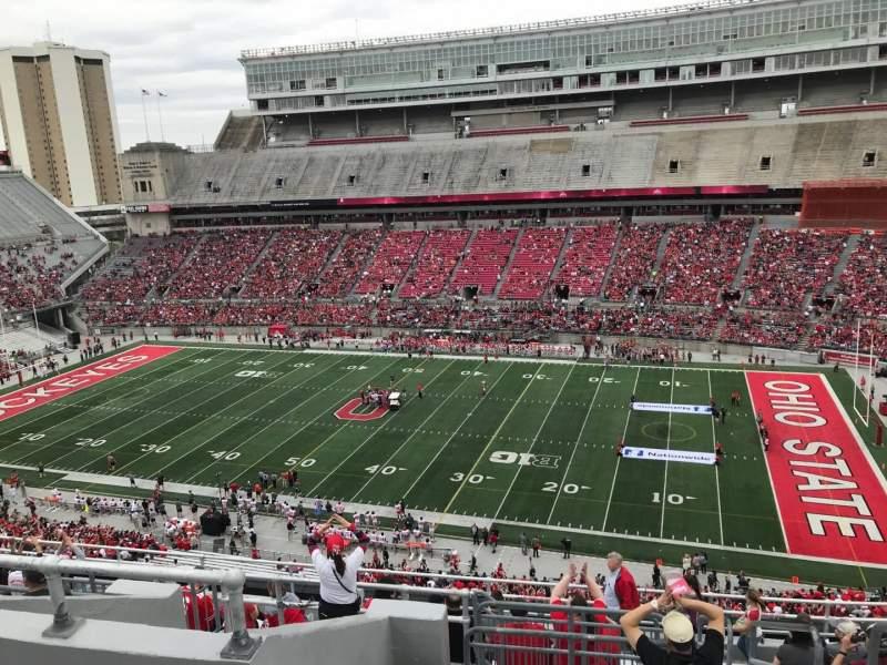 Ohio Stadium, vak: 18c, rij: 14, stoel: 2
