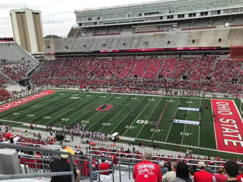 Ohio Stadium, vak: 16C, rij: 13, stoel: 30
