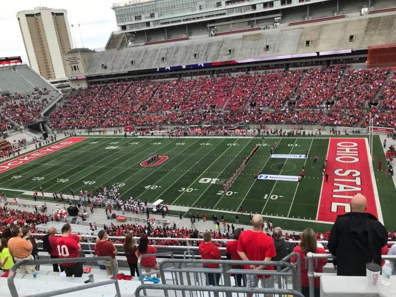 Ohio Stadium, vak: 16c, rij: 11, stoel: 12