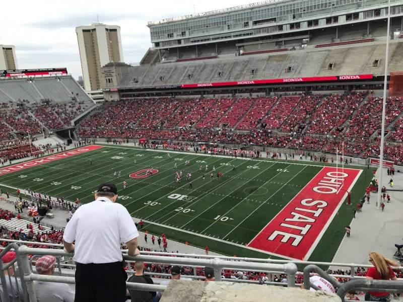 Ohio Stadium, vak: 14c, rij: 9, stoel: 5