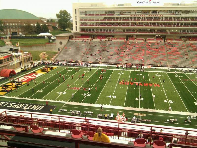 Maryland Stadium, vak: 206, rij: o, stoel: 14