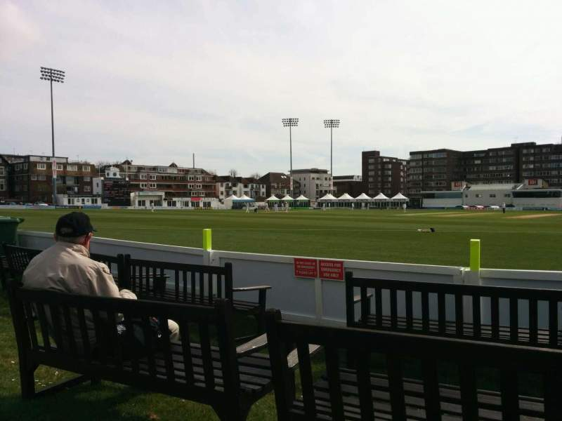 County Cricket Ground (Hove), vak: ga