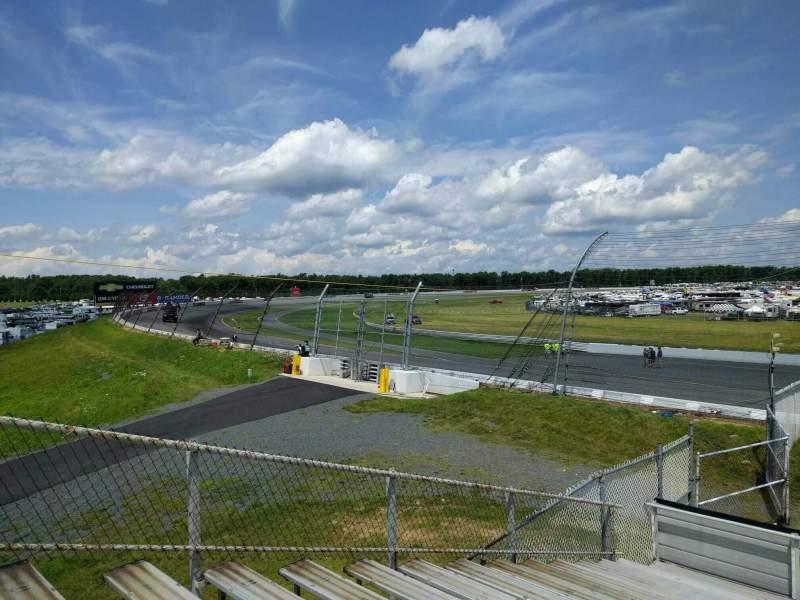 Pocono Raceway, vak: 146, rij: 15, stoel: 7