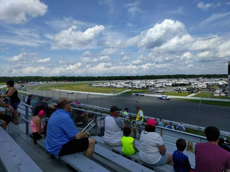 Pocono Raceway, vak: 242, rij: 10, stoel: 14