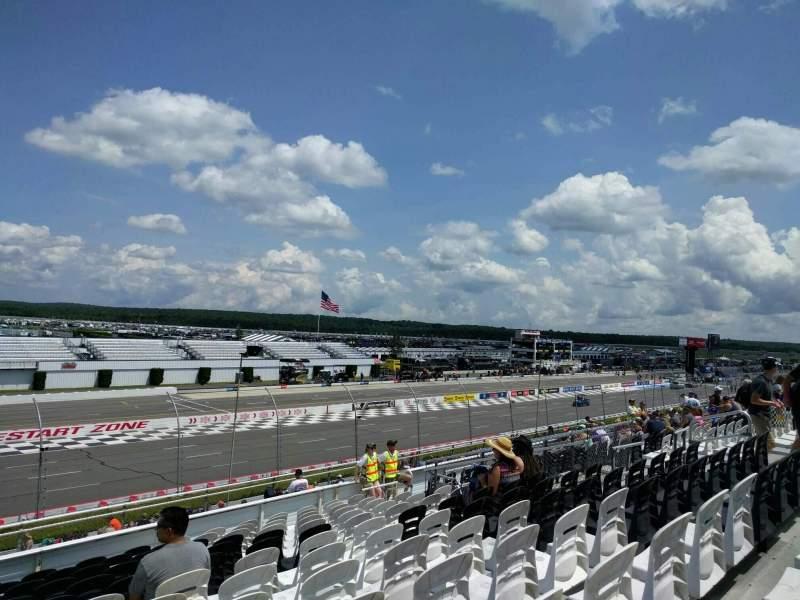 Pocono Raceway, vak: 240, rij: 30, stoel: 15