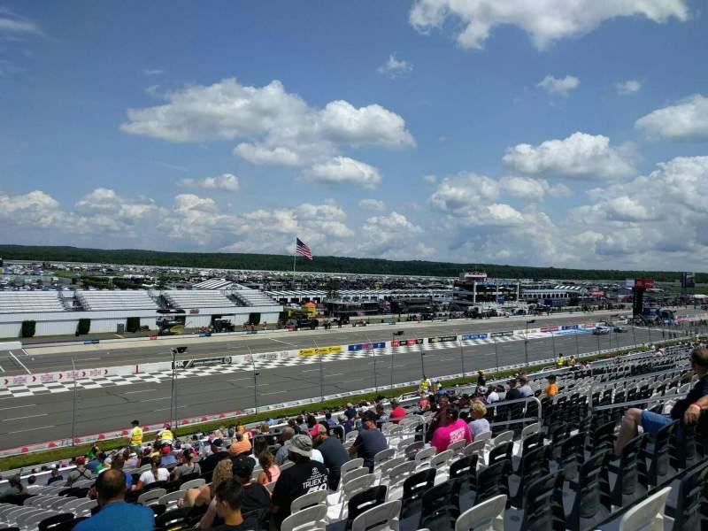 Pocono Raceway, vak: 238, rij: 41, stoel: 12