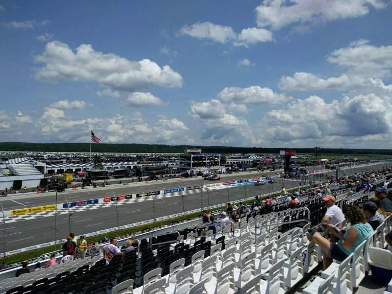Pocono Raceway, vak: 236, rij: 37, stoel: 12