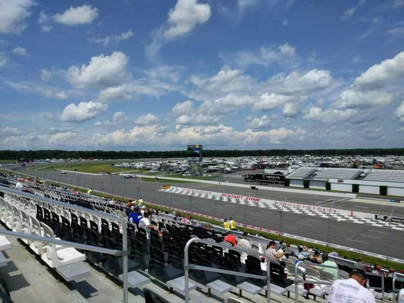 Pocono Raceway, vak: 234, rij: 38, stoel: 18